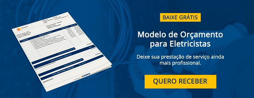 modelo de orçamento para eletricistas