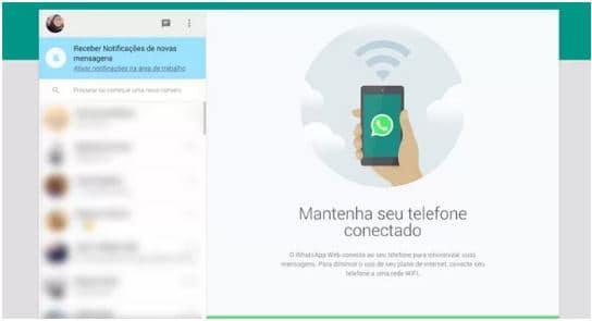 Tela WhatsApp